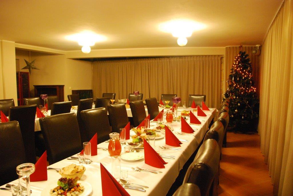 wieczory świąteczne sala w restauracji bazylia